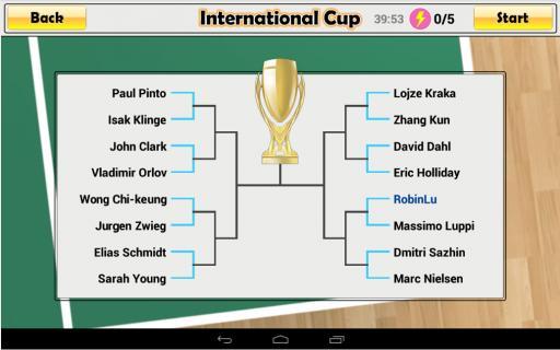 virtual table tennis截图2