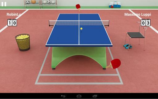 virtual table tennis截图3