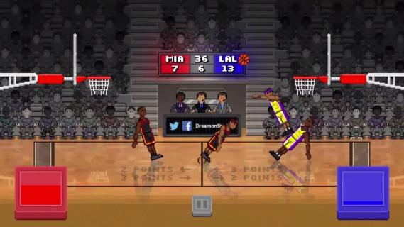 bouncy basketball截图1