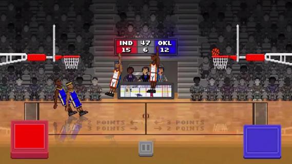 bouncy basketball截图2